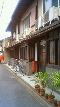 京の長屋風景