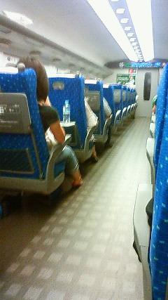 広島に向かっています